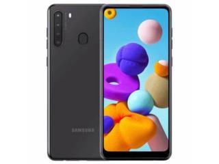 Samsung Galaxy A21, WESTERN DOLLAR  Puerto Rico