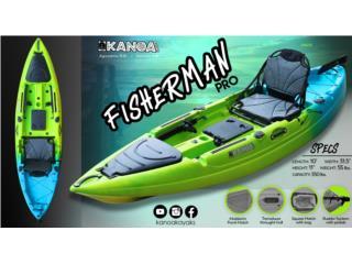 KANOA Fisherman PRO kayak - Pre Venta, KANOA kayaks Puerto Rico