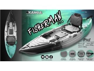 KANOA Fisherman PRO kayak - Separalo con $200, KANOA kayaks Puerto Rico