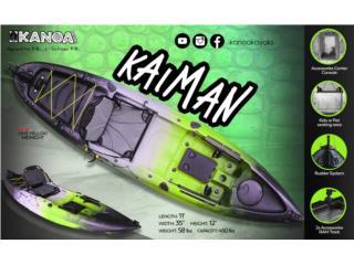 KANOA Kaiman kayak- El más esperado, KANOA kayaks Puerto Rico