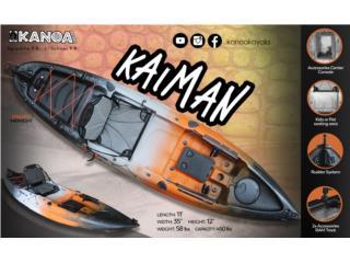 KANOA Kaiman kayak- Sepáralo con $250, KANOA kayaks Puerto Rico