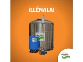 APROVECHA BONO DE $300. En Cisternas, UNIVERSAL SOLAR PROD. CORDERO Puerto Rico