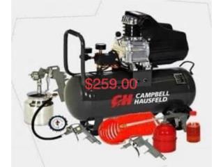 Compresor Campbell HausFeld, WESTERN DOLLAR  Puerto Rico