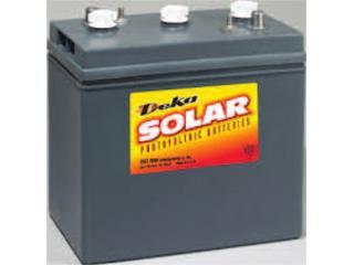 Deka Solar 9C11 6V 250AH - Bateria, MAXIMO SOLAR INDUSTRIES Puerto Rico