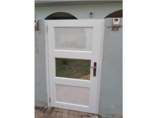 Porton de Patio 36x60 Blanco, #1 SANTIAGO WINDOW & DOORS Puerto Rico