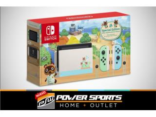 NintendoSwitch Special Edition AnimalCrossing, Power Sports Home + Outlet Puerto Rico