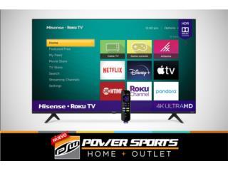 TV HISENSE 65' SMART ROKU , Power Sports Home + Outlet Puerto Rico
