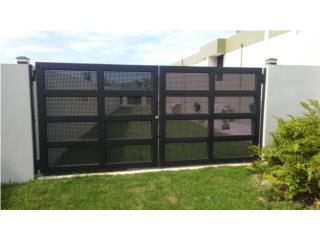 Portones en Metal Perforado, Pro Fence Puerto Rico