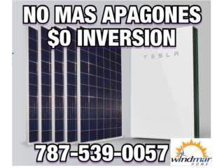 NO MAS AUMENTOS-NO MAS APGAGONES $0 INVERSION, Windmar Home Cambiate a Solar Puerto Rico