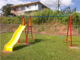Combo de: Columpio con Chorrera (serie: echo), Pro Fence Puerto Rico