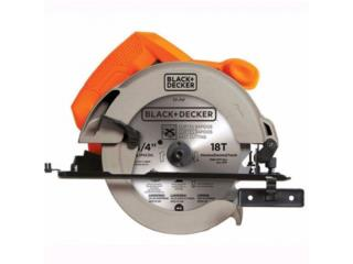 CIRCULAR SAW 7 1/4 BLACK&DECKER, COLON APPLIANCES PARTS DIST. Puerto Rico