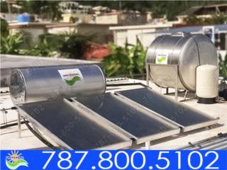 COMBO CALENTADOR Y TANQUE DE AGUA UNIVERSAL, UNIVERSAL SOLAR - PUERTO RICO        787-800-5102 Puerto Rico