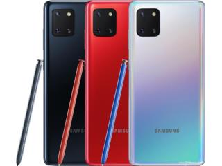 NOTE 10 LITE DE 128 GB EN $579.00 UNLOCK, MEGA CELLULARS INC. Puerto Rico