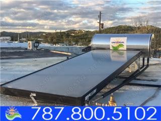 CALENTADOR SOLAR UNIVERSAL DE 82 GLS, UNIVERSAL SOLAR - PUERTO RICO        787-800-5102 Puerto Rico