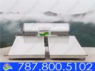 CALENTADOR SOLAR UNIVERSAL MEJOR TECNOLOGÍA, UNIVERSAL SOLAR - PUERTO RICO        787-800-5102 Puerto Rico