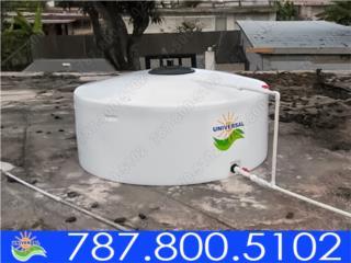 TANQUE POLIETILENO UNIVERSAL SOLAR, UNIVERSAL SOLAR - PUERTO RICO        787-800-5102 Puerto Rico