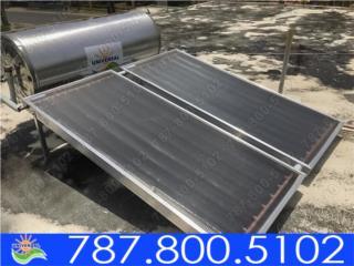 CALENTADOR SOLAR PARA TODA LA FAMILIA, UNIVERSAL SOLAR - PUERTO RICO        787-800-5102 Puerto Rico