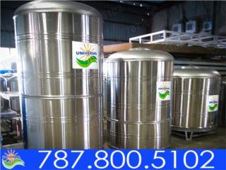 TANQUES SS 1200, 780, 600 Y 450 GLS        , UNIVERSAL SOLAR - PUERTO RICO        787-800-5102 Puerto Rico