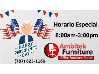 ****ABIERTOS EL LUNES 17/FEB/20****, AMBITEK FURNITURE Puerto Rico