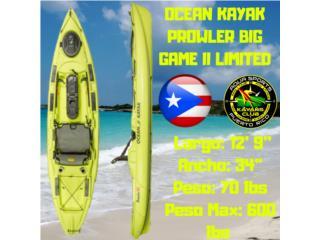 Big GameII El Mas Liviano y Super Comodo, AquaSportsKayaks Distributors PR 1991 7877826735 Puerto Rico