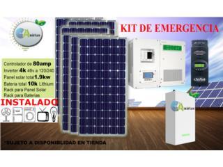 Sistema Emergencia 4048 lithium, Aspiradoras Rainbow P.R Puerto Rico