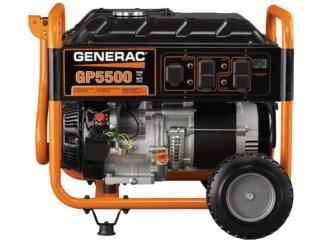 Generac GP5500 5,500Watts, Cashex Puerto Rico