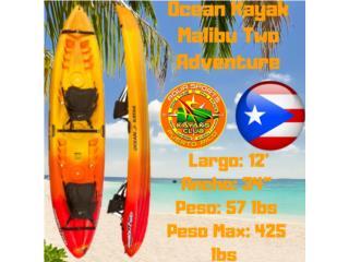 O.K Malibu Two Super Liviano, Mar 1ra Calidad, AquaSportsKayaks Distributors PR 1991 7877826735 Puerto Rico