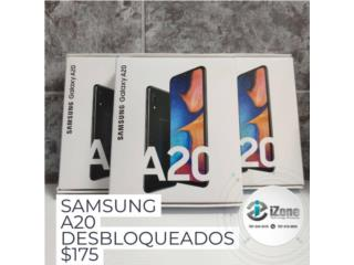 Samsung Galaxy A20 Desbloqueado, iZone Technology San Juan Puerto Rico