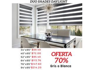 Gran oferta 70% desc en cortinas duo shades!, Cortinas Duo-Shades Puerto Rico Puerto Rico