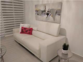 San Juan-Santurce Puerto Rico Herramientas, Moderno Sofa en piel