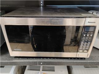 Microwave Panasonic $39.99, La Familia Casa de Empeño y Joyería-Arecibo Puerto Rico