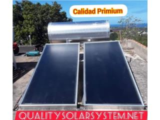 Calentador Solar 100% Stainless Steel, Sun and Water World Puerto Rico