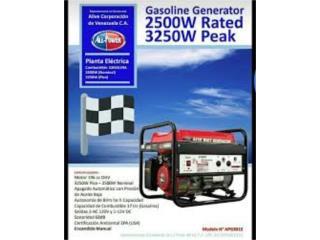 IPower 3250W . Hecho en USA.  68dba, Sigma Distributors PR Puerto Rico
