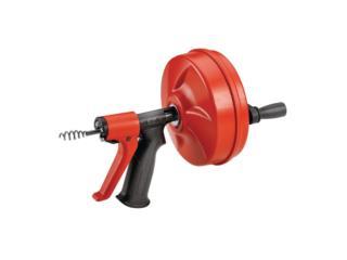 RIDGID Power Spin Drain Gun, Cashex Puerto Rico