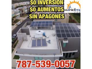 $0 INVERSION $0 AUMENTOS NO APAGONES, Windmar Home Cambiate a Solar Puerto Rico