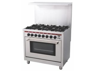 NEW OPTIMO 6 burner with convection oven , Master Chef Puerto Rico