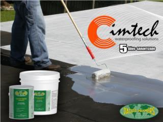 Repara tu techo con ELASTO-DECK 5001, CIM CARIBBEAN Puerto Rico