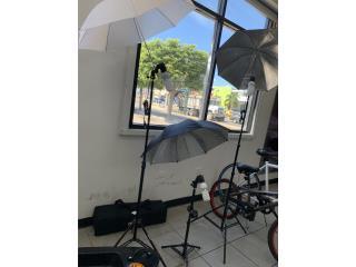 Set de 3 sombrilla para fotografía , La Familia Casa de Empeño y Joyería-Ponce 2 Puerto Rico