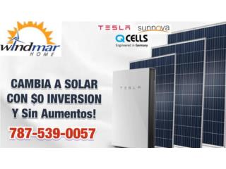 CAMBIATE HOY-NO ESPERES MAS-NO MAS APAGONES, Windmar Home Cambiate a Solar Puerto Rico