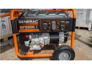 GENERAC GP-5500Rw GENERADOR PORTATIL, GT Power Generator Distributors. Puerto Rico