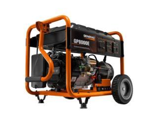 GENERAC GP-8000E-8Krw STARTER ELECTRICO, GT Power Generator Distributors. Puerto Rico