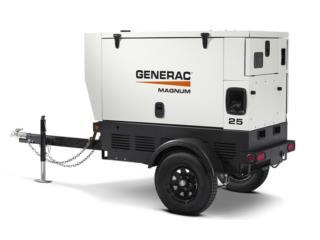 GENERADOR GENERAC MOVILES 25K-TIER4 , GT Power Generator Distributors. Puerto Rico