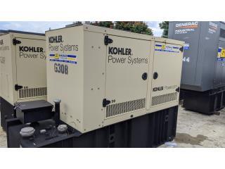 KOHLER 50KW TURBO-DIESEL-TANQUE 300GAL., G.T. Power Division  Puerto Rico