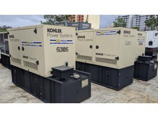 GENERADOR DIESEL KOHLER 50K-TIER3-TANQUE 300, GT Power Generator Distributors. Puerto Rico