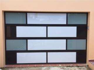 NUESTROS MODERNOS MODELOS ELEGANTES , PUERTO RICO GARAGE DOORS INC. Puerto Rico