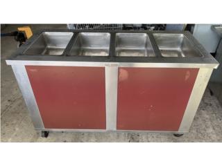 Steam Table electrico 4 huecos , KC WAREHOUSE Puerto Rico