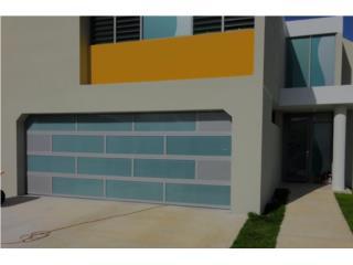 MODELOS EN CRITAL DE SEGURIDAD ELEGANTE , PUERTO RICO GARAGE DOORS INC. Puerto Rico