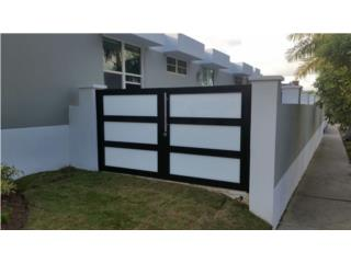 MODELOS MODERNOS COMBINADOS  , PUERTO RICO GARAGE DOORS INC. Puerto Rico