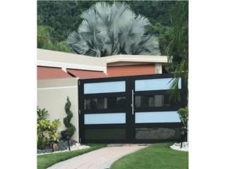 MODELOS NUEVOS PARA EL 2020 EN ALUMINIO , PUERTO RICO GARAGE DOORS INC. Puerto Rico