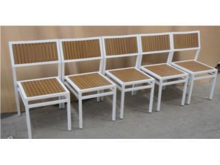 Nueva Silla Polyteak Frame de Aluminio, PR SEATING Puerto Rico